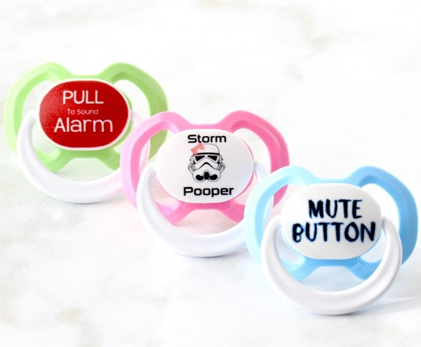 Customized Baby Gifts Pacifier