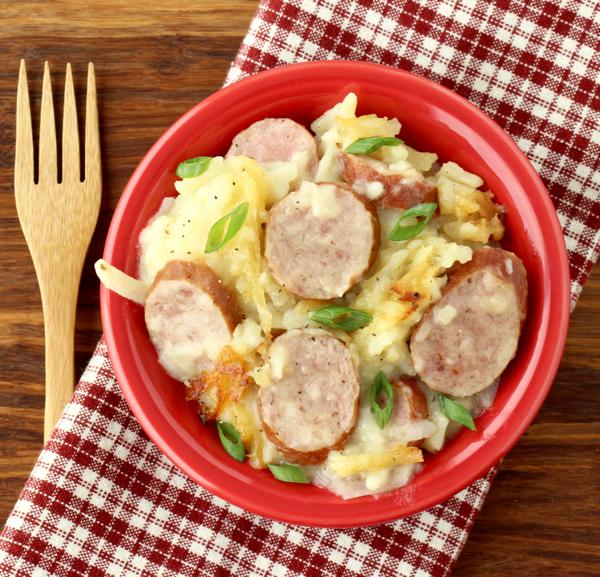 Crockpot Sausage and Potatoes Recipe
