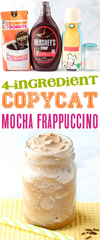 Frappuccino Recipe Homemade Starbucks Mocha Frappe Copycat Recipes