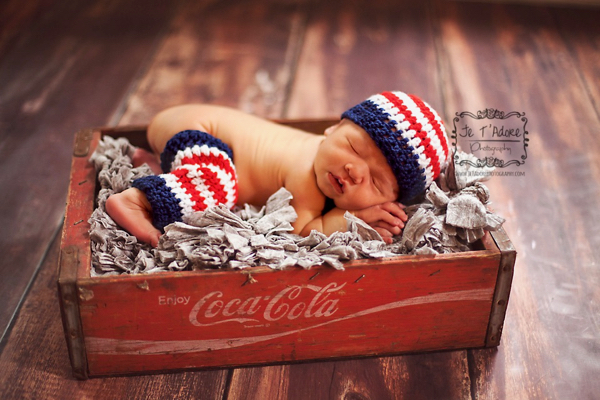 Free Patriotic Crochet Pattern for Baby