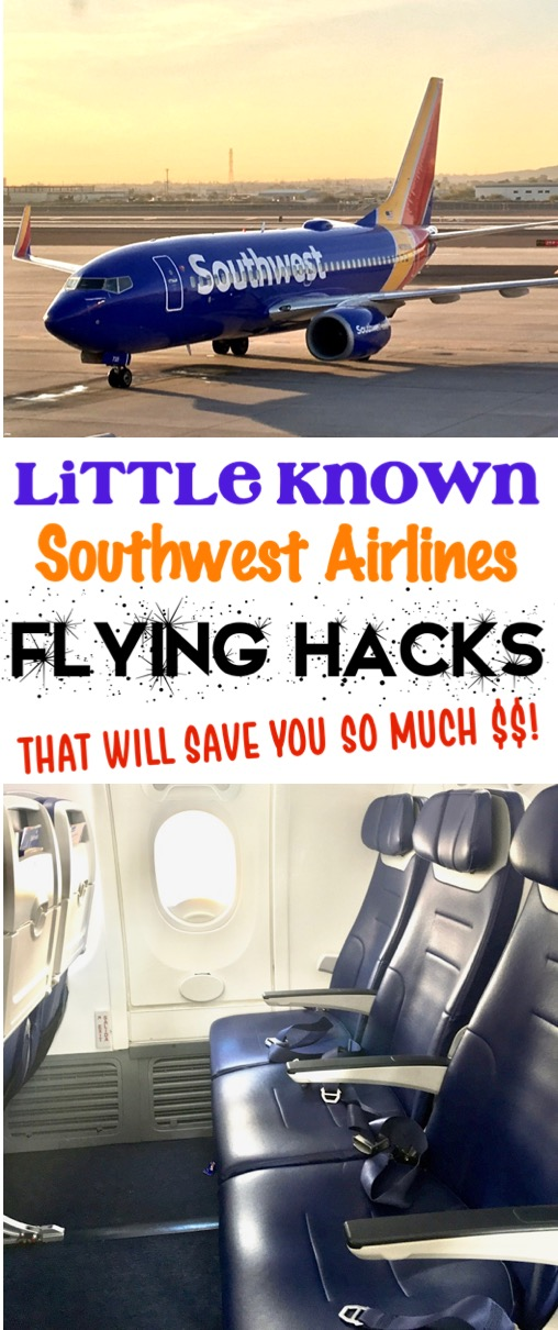 Travel Hacks Airplane Packing and Carry on Tips for Solo Travelers or Families with Kids - Southwest Airlines Tips and Tricks