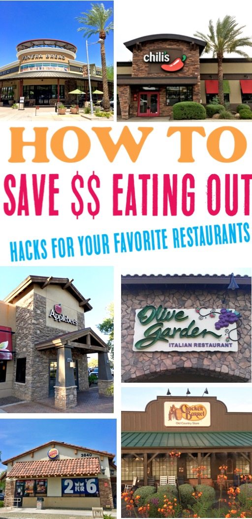 Save Money Eating Out - Best Tips and Ideas to Save on Fast Food and Sit Down Restaurants - Perfect for Frugal Date Nights or Road Trips