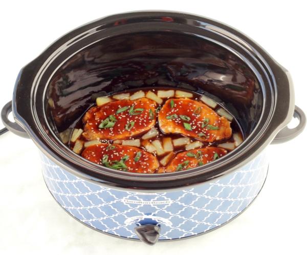 Crockpot Hawaiian Pork Chops Recipe