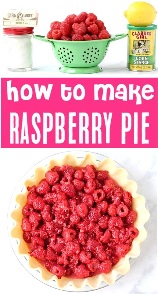 Pie Recipes Easy Fruit Raspberry Pies