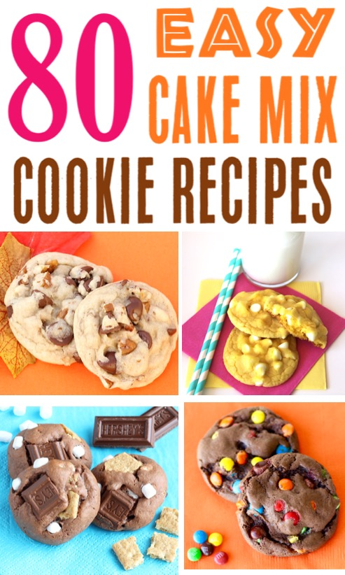 Cake Mix Cookies Recipes Easy 5 Ingredient or Less Cookie Ideas Using Boxed Cake Mixes