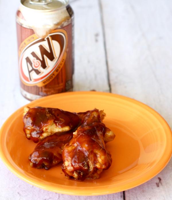 Instant Pot BBQ Root Beer Chicken Wings