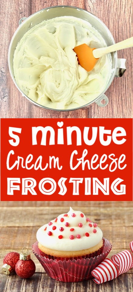Cream Cheese Frosting Easy Recipe