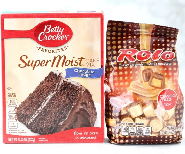 Rolo Cookies Recipe Cake Mix
