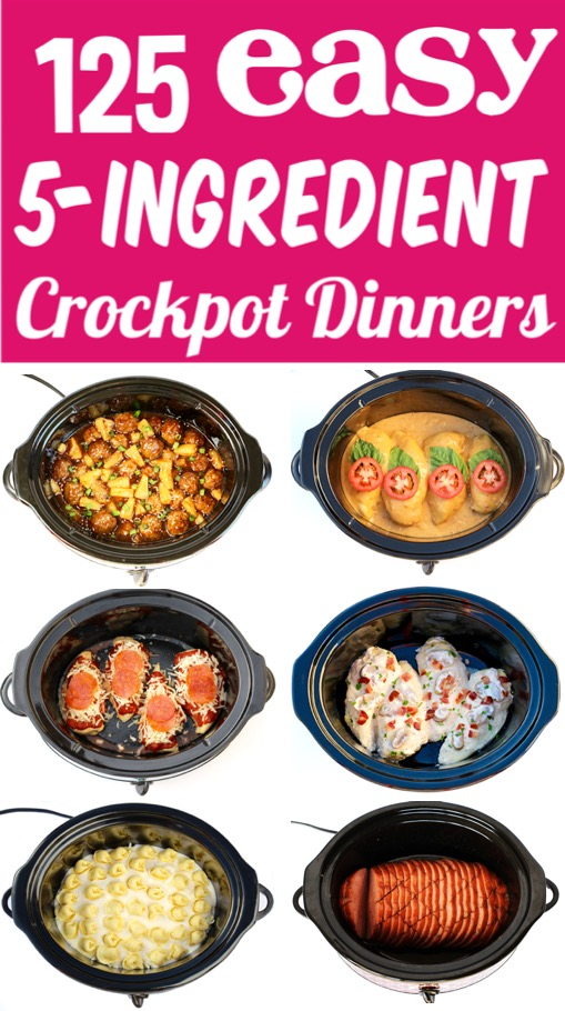 Crockpot Meals 5 Ingredient Crock Pot Recipes