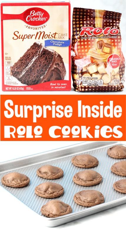Rolo Cookies Recipe Using Cake Mixes