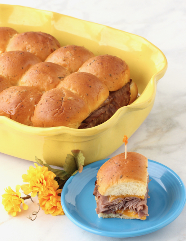 Mini Roast Beef Sliders Recipe