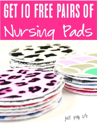 Baby Shower Ideas for Gifts - Nursing Pads Gift Idea for New Moms