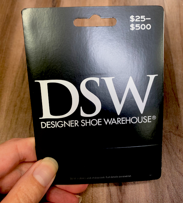 Free DSW Gift Card