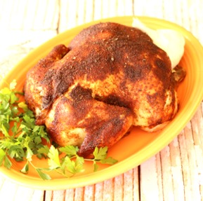 Crockpot Whole Chicken Recipe with Homemade Seasoning Mix