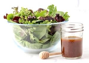 Honey Balsamic Dressing Recipe