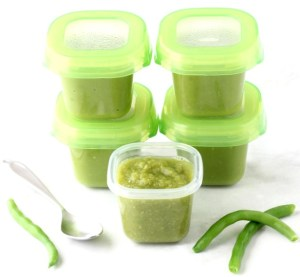 Green Bean Baby Food Puree Recipe