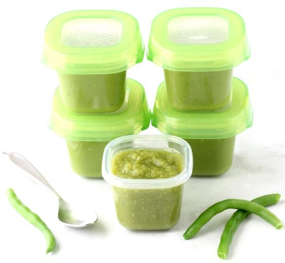 Green Bean Baby Food Puree Recipe