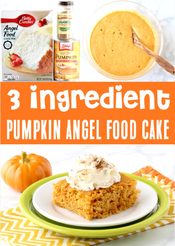 Pumpkin Cake Mix Recipes
