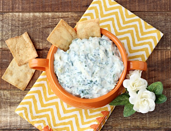Cold Spinach Artichoke Dip Recipe Easy