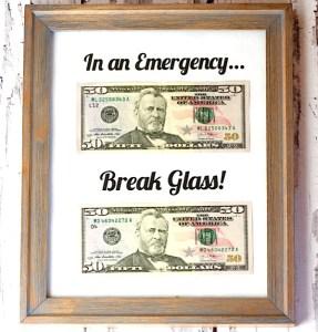 In an Emergency Break Glass