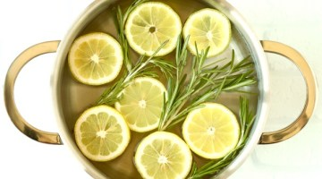 Lemon Stovetop Potpourri Recipe