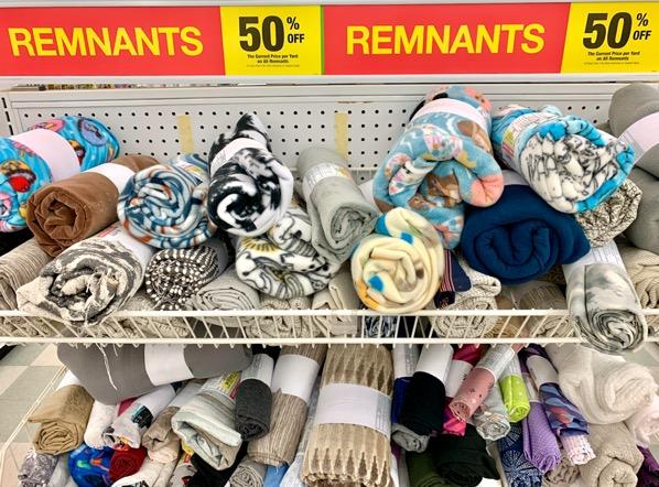 Joann Fabric Remnants