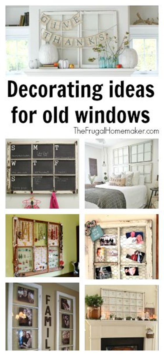 Decorating ideas for old window shutters for Decorating with old windows and shutters
