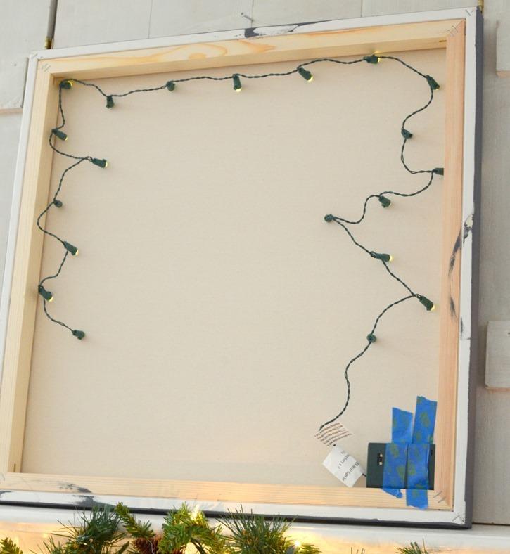 Christmas Paintings Led Lights