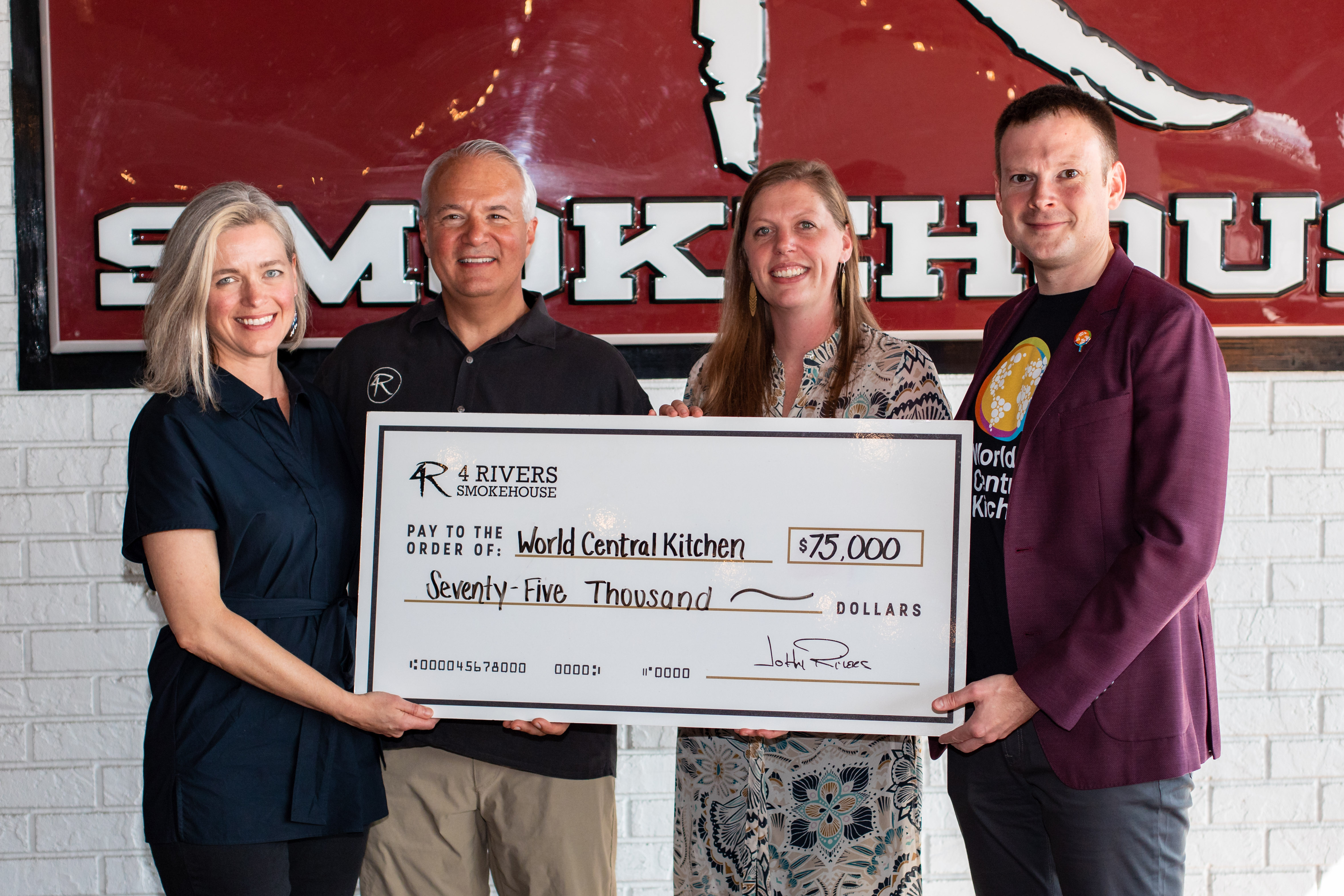 4 Rivers Smokehouse and The COOP donate $75k to Hurricane Dorian relief efforts