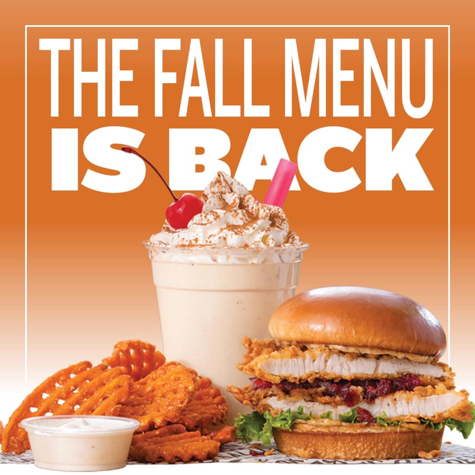PDQ releases new, limited Fall menu lineup