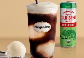 photo of Haagen-Dazs chameleon coffee float