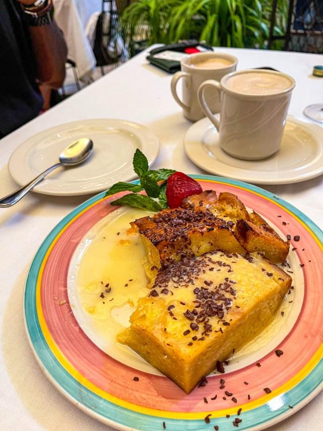 Visit Tampa Bay Columbia Restaurant bread pudding