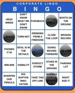 Corporate Lingo Bingo screenshot