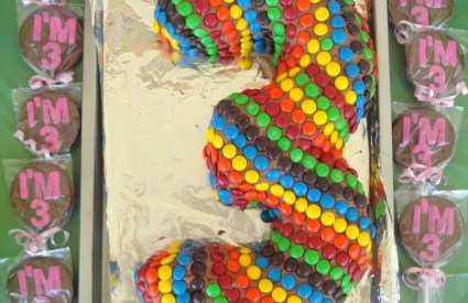 M&M Birthday Party