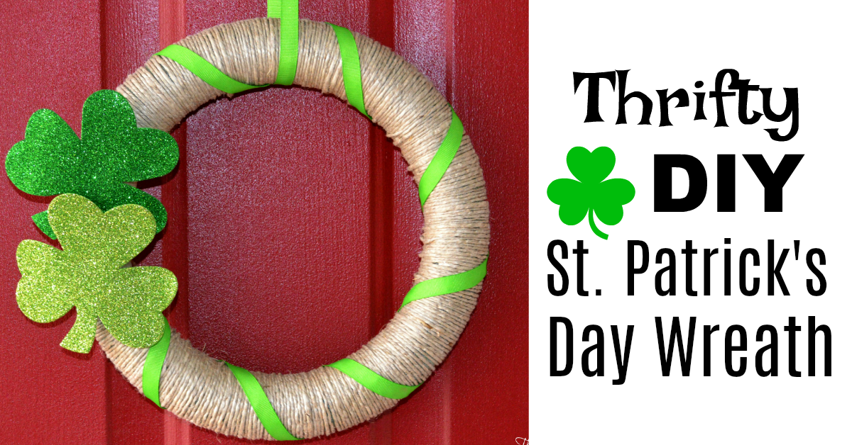 Inexpensive St. Patrick's Day Wreath