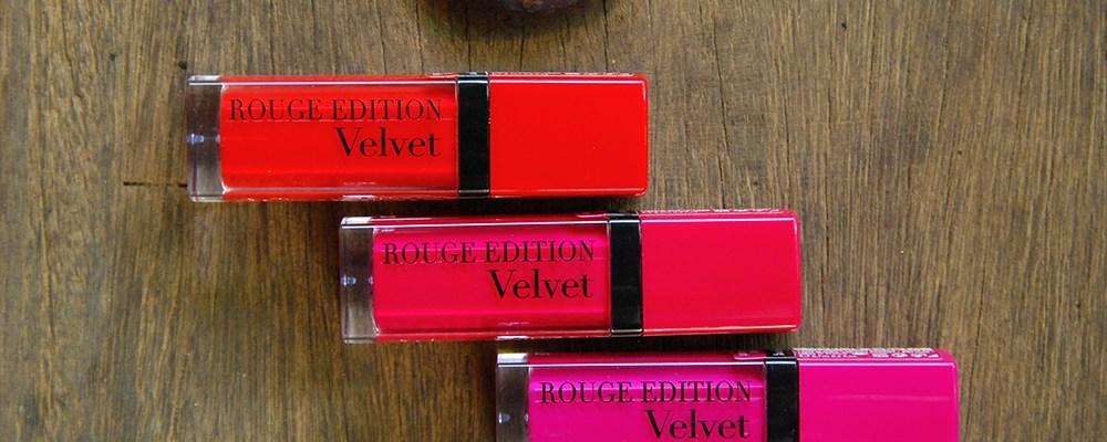 LoTW: Bourjois Rouge Edition Velvets