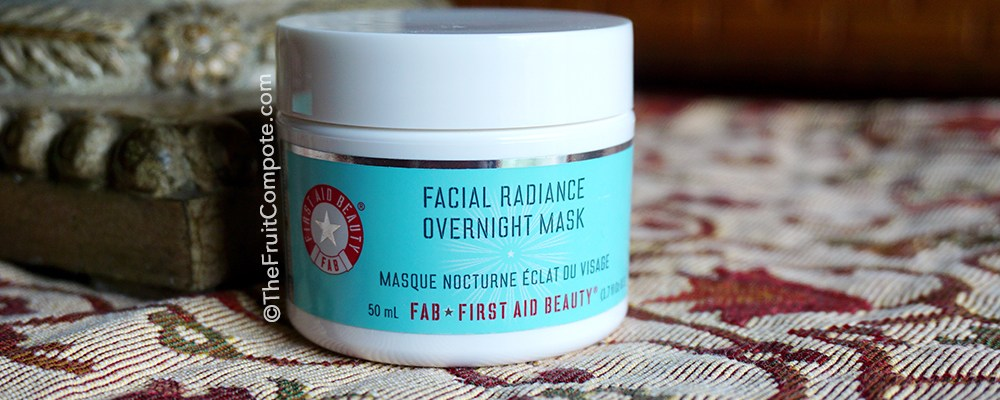 Pick Up The Day with F.A.B. Facial Radiance Overnight Mask