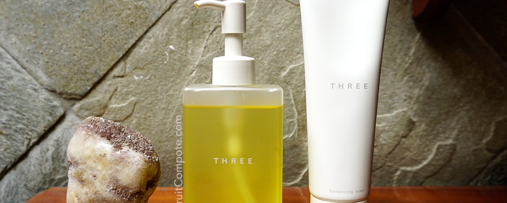 THREE Balancing Cleansing Oil and Foam – Clean and Relaxing