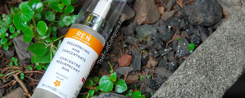 The Unexpected REN Resurfacing AHA Concentrate