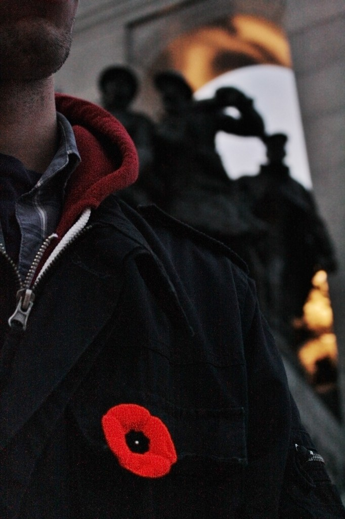 Students write poems for Remembrance Day