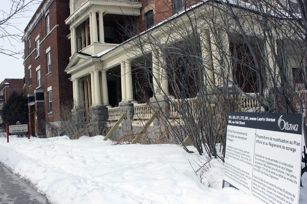 Plans For Residence At Laurier And Friel Approved By Planning Committee
