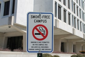 NEWS_no smoking on campus_cred_CC, Elvert Barnes