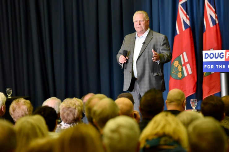 Premiere Doug Ford