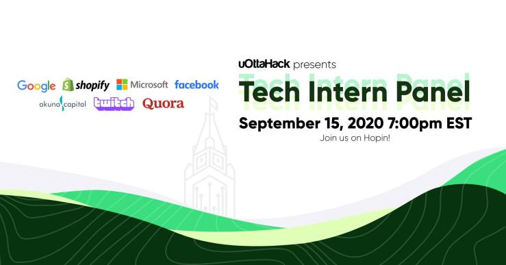 Home page of uOttaHack