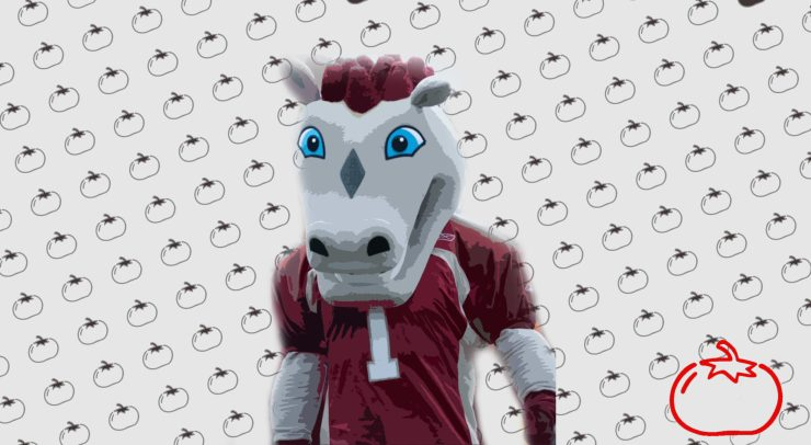 The Gee-Gees Mascot