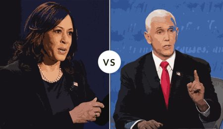 An illustration of last weeks VP debate
