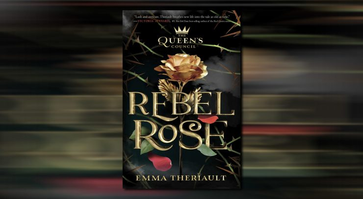 The Queen's Council hardcover: Rebel Rose