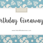 Join my BIRTHDAY GIVEAWAY!