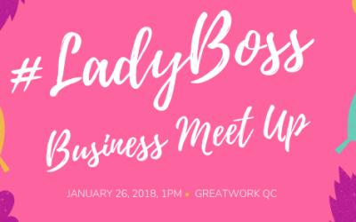 #LadyBoss Business Meet Up