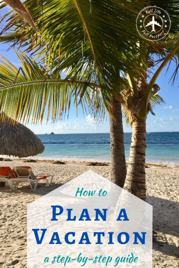This guide to how to plan a trip is a lifesaver! Plan your next vacation with this step-by-step guide, complete with a sample travel plan.